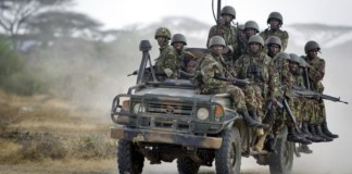 Ten Kenyan police officers killed when vehicle struck an IED