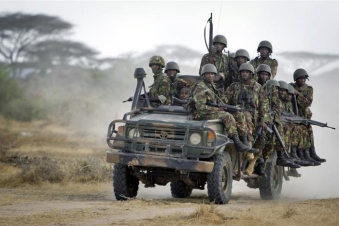 Ten Kenyan police officers killed when vehicle struck an IED