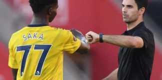 Arsenal tie Nigerian teenager Bukayo Saka to long-term deal