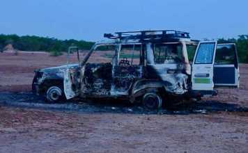 Gunmen on motorbike kill 6 French aid workers, their driver and guide in Niger