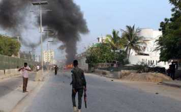 Military base in Somali capital rocked by bomb blast, at least 8 dead