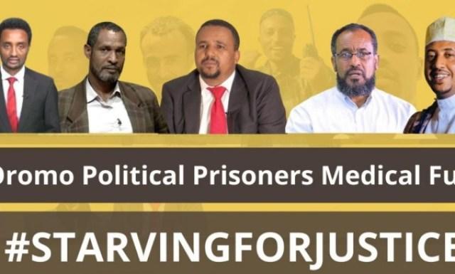 Ethiopian opposition leaders' health deteriorating in jail