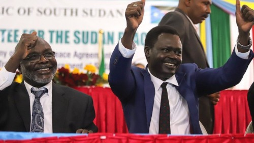 Sudan names new cabinet with ex-rebels as ministers