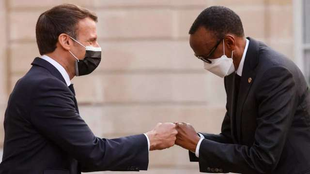 French's Macron in Rwanda on fence mending mission