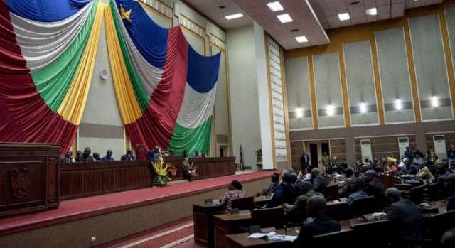 Firmin Ngrebada Central African Republic's PM announces resignation