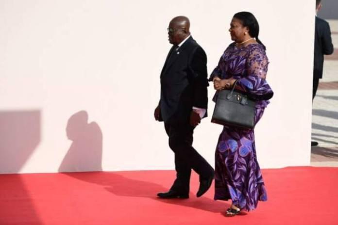 Anger in Ghana over pay for president's wife