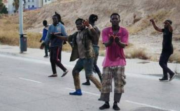 Over 200 migrants break from Morocco into Spanish enclave