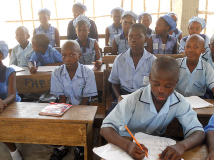 Renovations Underway to Provide Expanded Enrollment at the Waterloo School in Sierra Leone