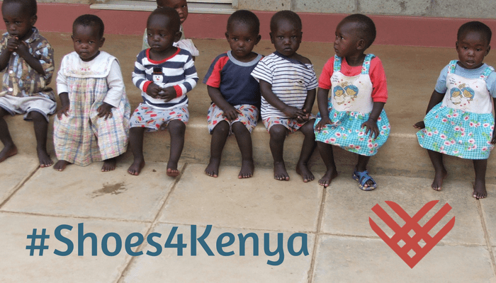 #ShoesforKenya: A campaign to provide shoes for children in Kenya