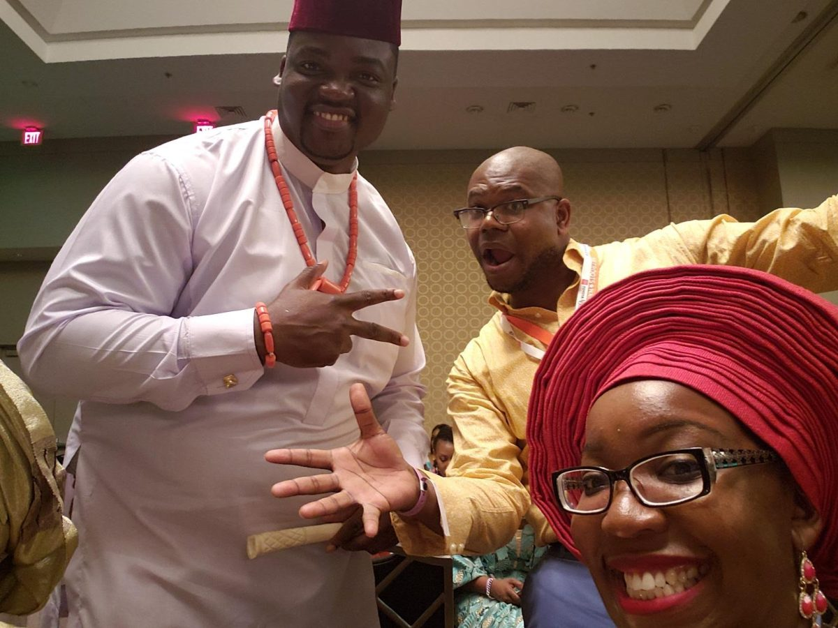 African-American Commentator Gives take on huge Nigerian Gathering in New Orleans