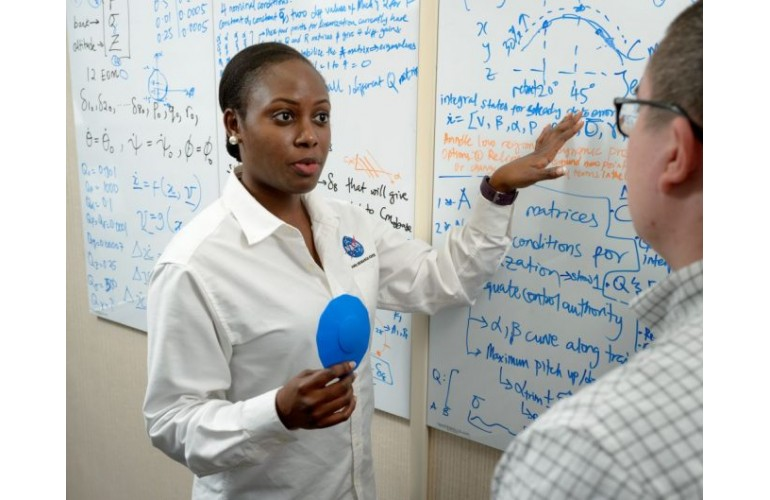 "Nigerian-born Dr. Wendy Okolo is ""The Most Promising Engineer in the US Government"""