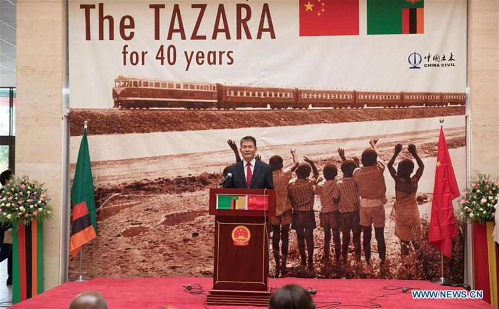 Ceremony celebrating 40 years of TAZARA railway