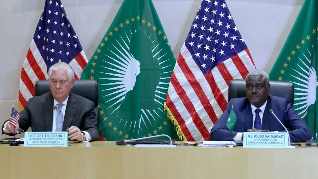 African and USA leaders meet