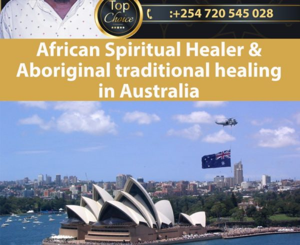 African Spiritual Healer and Aboriginal traditional healer in Australia