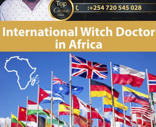 International Witch Doctor in Africa