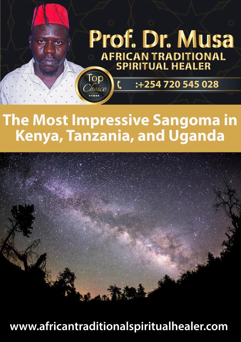 The Most Impressive Sangoma in Kenya, Tanzania, and Uganda