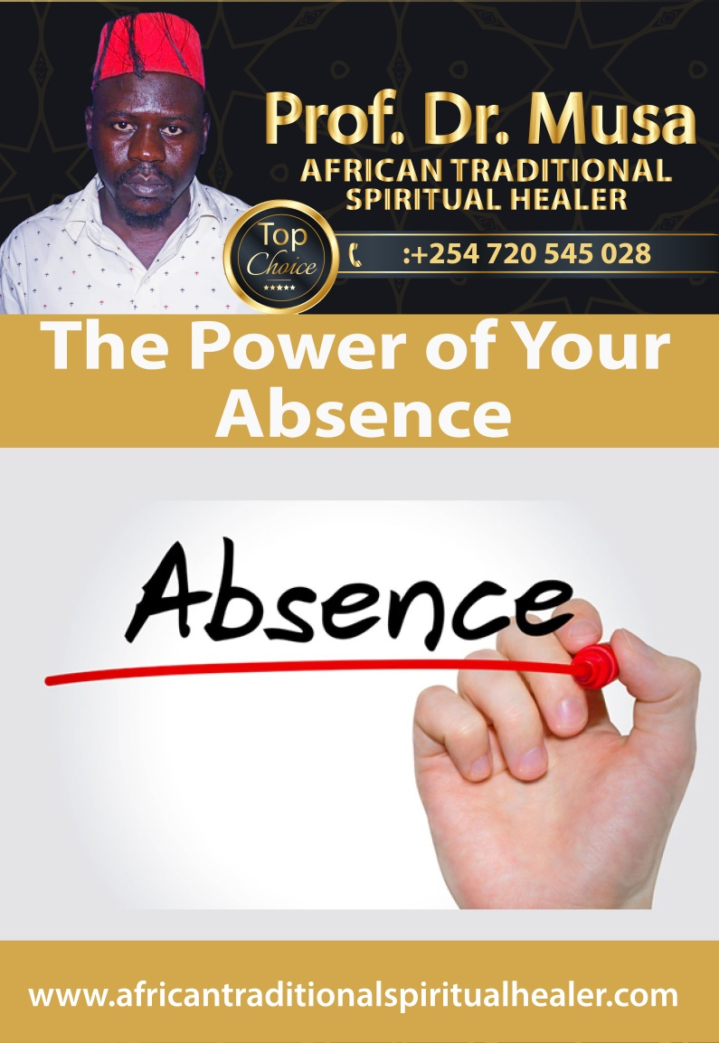 The Power of Your Absence