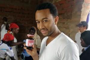 John Legend in Tanzania