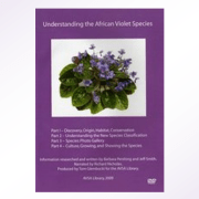 Understanding the African Violet Species DVD by Dr. Jeff Smith and Dr. Barbara Pershing