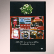 African Violet Society of America 2009 Reno convention media