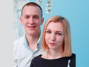 Natalia and Sergey Burkatsky