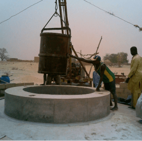 Nice construction of a well