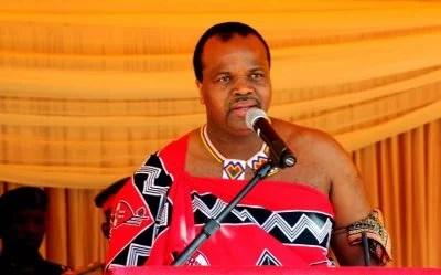 King Mswati III (Swaziland)