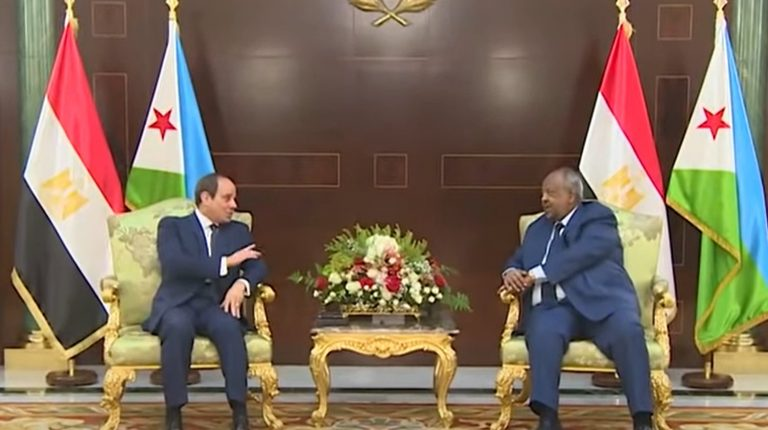 Al-sisi of Egypt's in Djibouti to Confer Over Horn of Africa Issues, Joint Projects