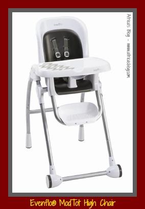 evenflo modern kitchen high chair mart stam modtot santa fe review