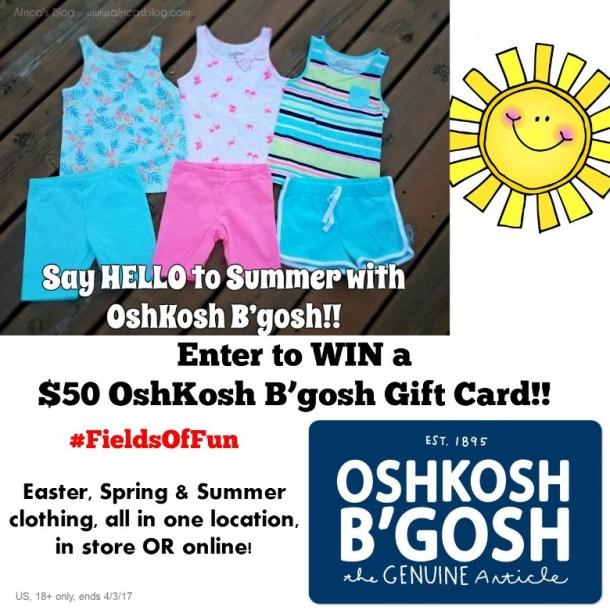 OshKosh B'gosh Gift Card!