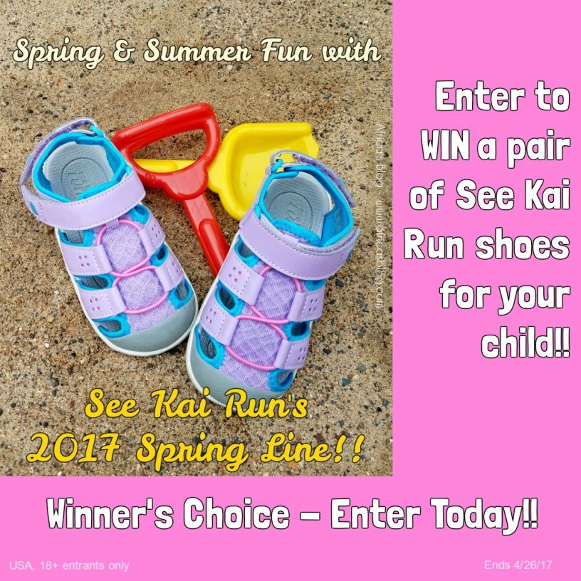 See Kai Run Spring Line Celebration & Giveaway! (ends 4/26)