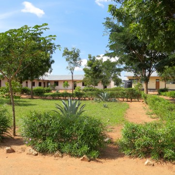 Idetemya Secondary School, Misungwi District.  Still under development.