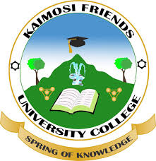 Kaimosi Friends University College admission requirement