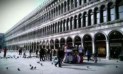 venice san marco square doge palace