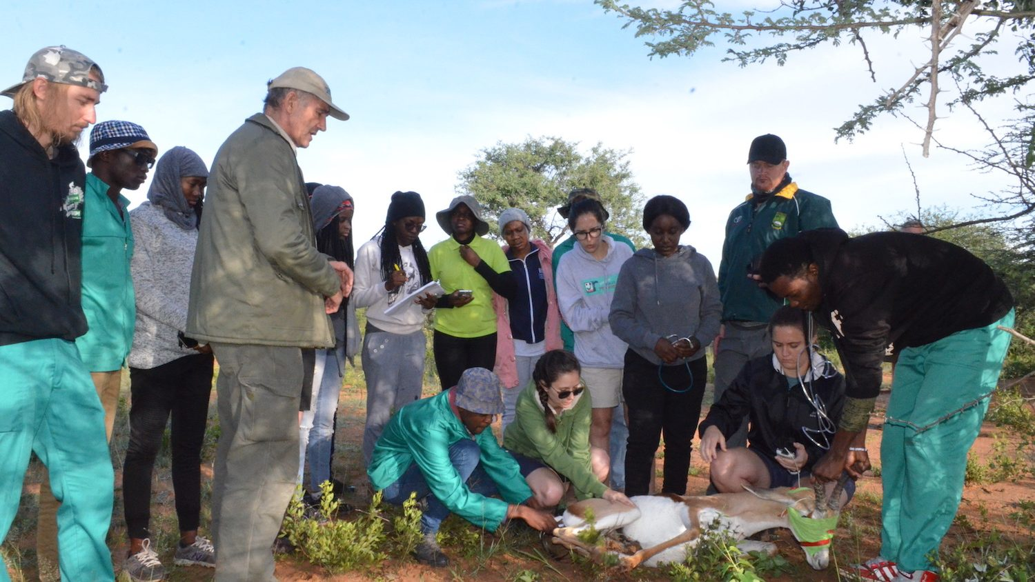 Veterinary Students from UNAM visit AfriCat