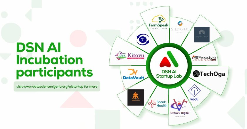 Data Science Nigeria launches the Artificial Intelligence Startup Incubation Program with 12 Startups