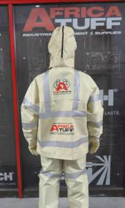 uhp safety suit back