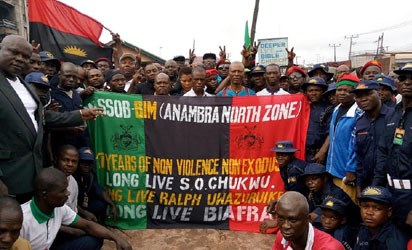 IPOB sit-at-home order records partial compliance