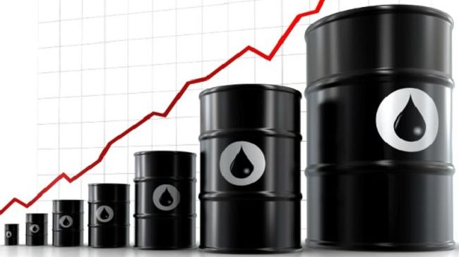 Oil prices jump above $65 per barrel