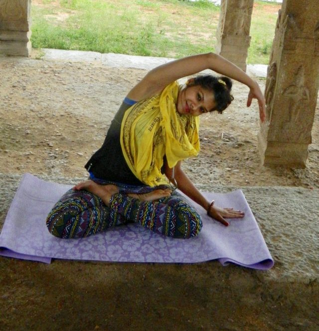 Fade out depression with Yoga