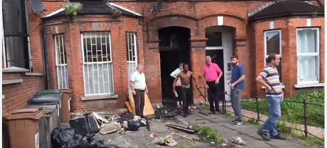 Two Nigerians flog white landlord as he evicts them in Derby  [VIDEO]