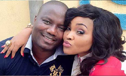 Court slams Mercy Aigbe's husband with restraining order