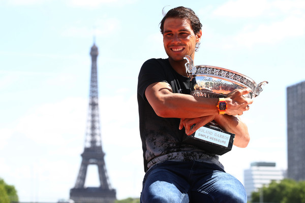 King on Clay Nadal wins 10th French Open