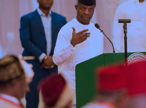 Osinbajo reads riot act to Biafra agitators, others