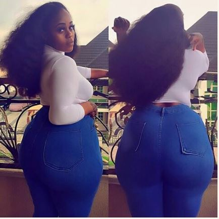 Delta-based Big Girl 'Rules' Instagram with Her big buttocks