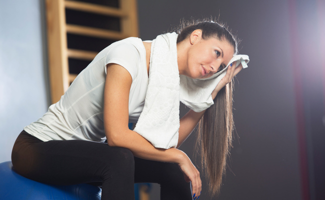 How Fit You Are May Determine How Much You Sweat