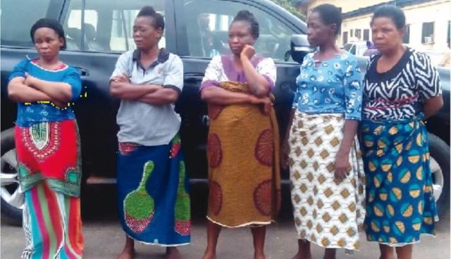 Police arrest 5 Women Kidnappers Gang in Imo state