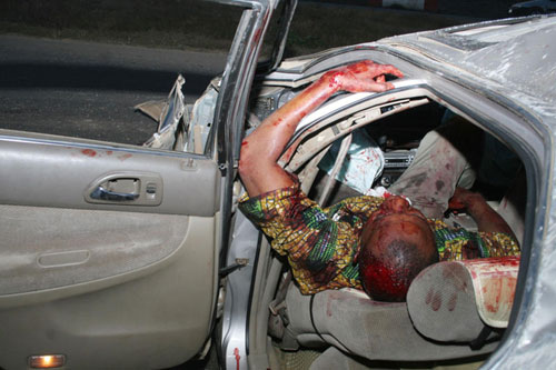 Five die in ghastly accident in Rivers State