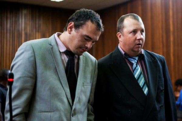 2 South Africans jailed for putting blackman in coffin