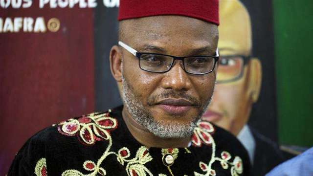 Police finds ' lethal weapons' in Nnamdi Kanu's home
